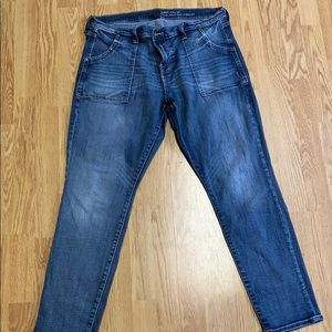 GAP Skinny Roll-Up Jeans